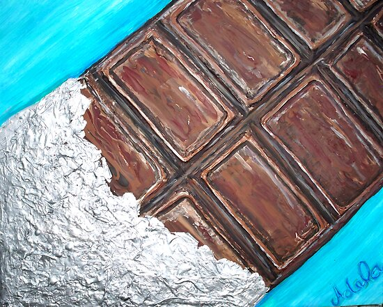 """Chocolate Bar"" by Adela Camille Sutton"