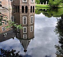 """Mirror Of Tower Castle """"Het Nijenhuis"""" by Jo Nijenhuis"""