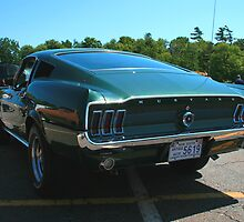 1968 Ford Mustang  by HALIFAXPHOTO