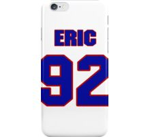 National football player Eric Downing jersey 92 iPhone Case/Skin