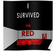 I Survived the Red Room (Graphic Version) Poster
