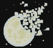 Broken Pixel - Fragment Moon! Kids Clothes