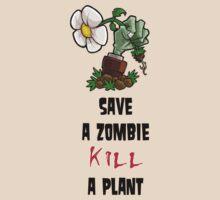 Save Zombies, kill plants. by NateSempai