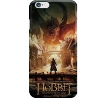 Hobbit Battle Of The Five Armies - Bard and Smaug iPhone Case/Skin