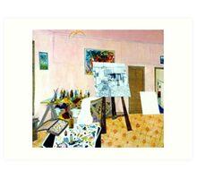 Tribute to Peter - The Art Room Art Print