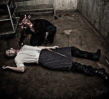 Butcher'd Butcher by Reg  Lyons
