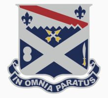18th Infantry Regiment - IN OMNIA PARATUS - In All Things Prepared by VeteranGraphics