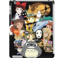 Studio Ghibli Collage iPad Case/Skin