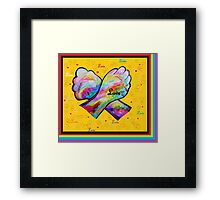 American Sign Language LOVE Framed Print