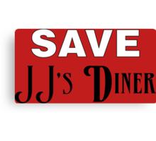 Save JJ's Diner Canvas Print