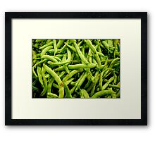 Ready to Be Snapped! Framed Print