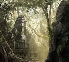 Lost Temple - Matte paintings by chrisfx