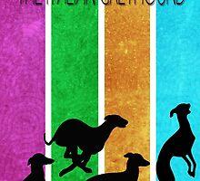 Italian Greyhound simplistic by CBJewel