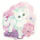 The Little Angel Kitten  by AngelArtiste