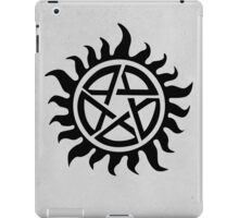 Supernatural - Demon Possession Protection [BLACK] iPad Case/Skin