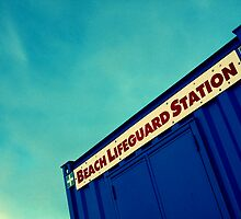 Lifeguard Station by PaulBradley