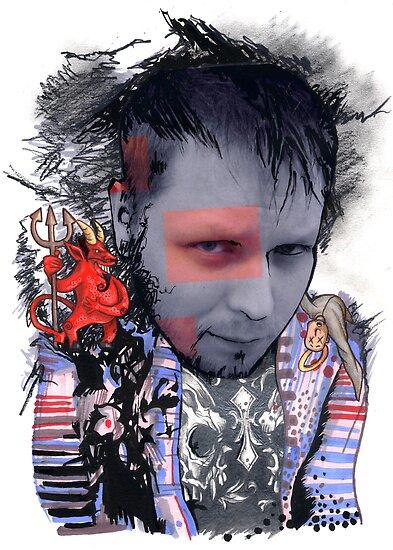 Brand Spankin' New Self Portrait by Steven Novak