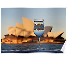 Glass IV, or Opera on the Rocks Poster