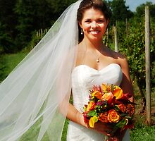 Bride at the Vineyard by annalee21
