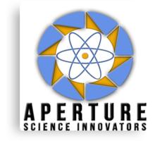 Aperture Science Laboratories Canvas Print