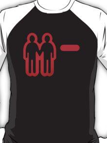 Negative relationship points. T-Shirt