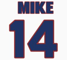 National football player Mike Loyd jersey 14 by imsport