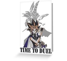 Time to duel! Greeting Card