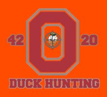 Ohio State Duck Hunting Kids Clothes