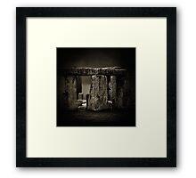 Stone Henge II Framed Print