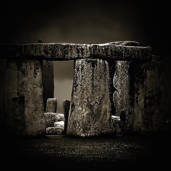 Stone Henge II by Damienne Bingham