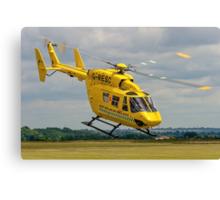 MBB BK.117C-1 G-RESC Air Ambulance Canvas Print