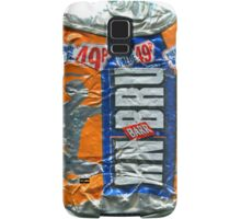 IrnBru - crushed tin Samsung Galaxy Case/Skin