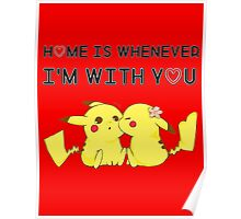 Best Valentine's Day T-Shirt With Pikachu ! Poster
