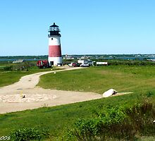 #492  Sankety Lighthouse  - Nantucket, Massachusetts by MyInnereyeMike