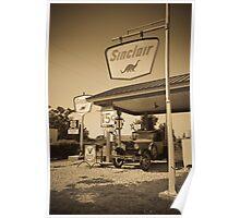 Gay Parita Gas Station (Alan Copson © 2007) Poster