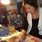 in my old studio by Maria Catalina Wiley