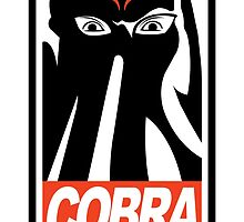 Obey Cobra! by claygrahamart
