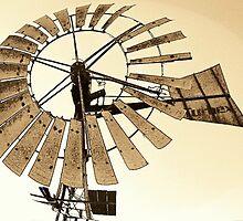 Windmill by Teresa Schultz