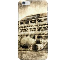 The Dickens Inn Pub London Vintage iPhone Case/Skin