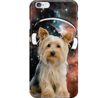 Space Yorkie iPhone Case/Skin