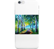 Fresh Birches — Buy Now Link - www.etsy.com/listing/220283960 iPhone Case/Skin