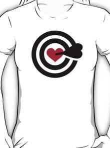 Darts red heart T-Shirt
