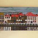 Hobart Pier by Joan Wild