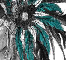 Steampunk Chief Sticker