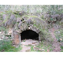 A beehive coke oven intact! Newnes ruins, New South Wales. Photographic Print