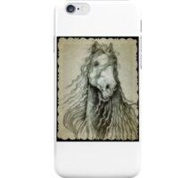 Beautiful horse drawing iPhone Case/Skin