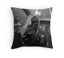 'On the Road' Throw Pillow