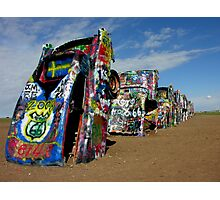 Cadillac Ranch - Amarillo, Texas Photographic Print