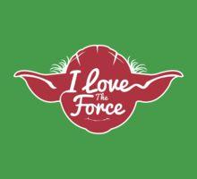 I LOVE THE FORCE by Alienbiker23