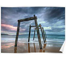 Cat Bay Sunset Poster